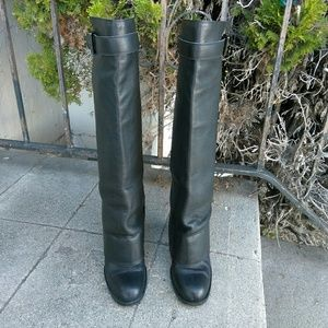 CHANEL Shoes - Authentic Chanel Tall Foldover Boots